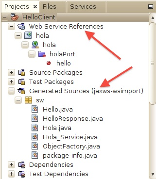 Introducción a los Servicios Web  Invocación de servicios